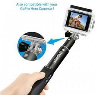 Faster FM-68 Bluetooth Remote Control Monopod Selfie Stick for Call Phone & ipad