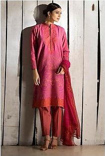 H14581A (PINK) By Khaadi