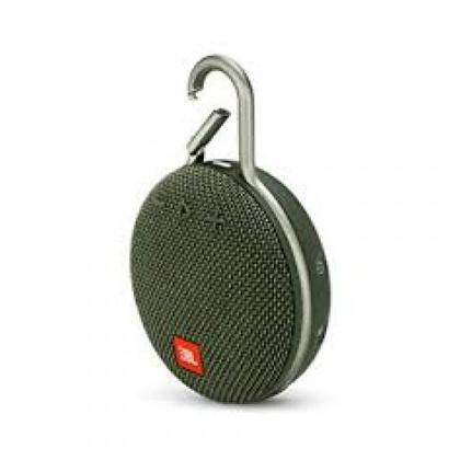 JBL Clip 3 Portable Bluetooth Speakers (Black/Green/Red)