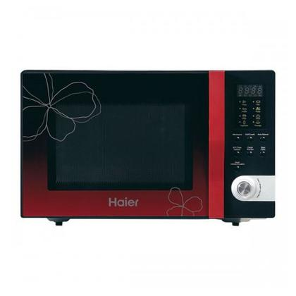 Haier 32 Ltr Red Ribbon Series Microwave Oven HMN-32100EGB Black
