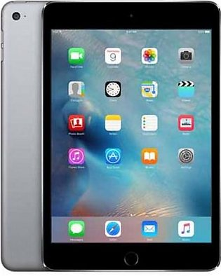 "Apple iPad Mini 4 - 16GB 2GB 8MP Camera (7.9"") Retina display Wi-Fi + 4G Grey"