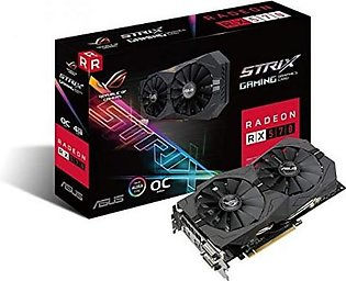 Asus ROG Strix AMD Radeon RX 570 OC Edition 4GB Graphics Card (ROG-STRIX-RX57...