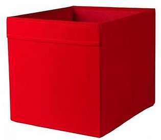 IKEA Storage Box - Gray/Red