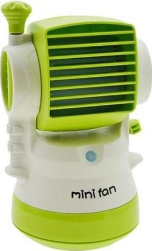 Mini Air Conditioning Mist Fan with PowerBank