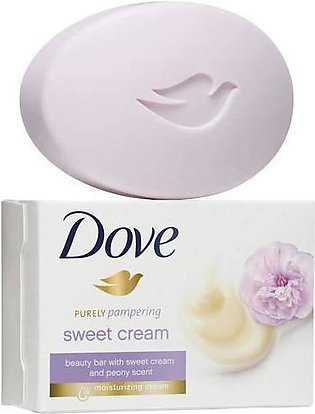 Dove Purely Pampering Sweet Cream Bar Soap 120 Grams