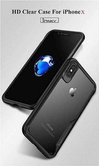Ipaky Soft Flexible Case For Iphone X - Black