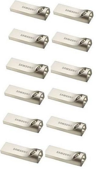 Pack To 12 32Gb - 3.0 Usb Flash Drive - Silver