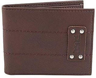 LEVIS Studded Two Horse Patch Wallet