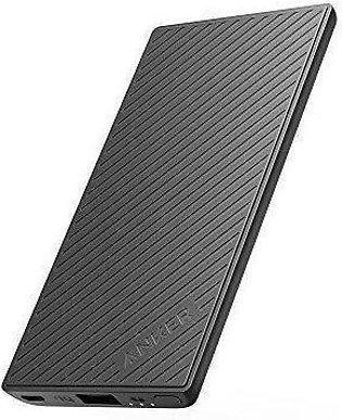 Anker PowerCore Slim 5000 Portable Charger, Ultra Slim External Battery and F...