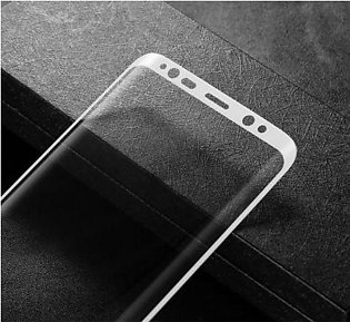 Baseus 3D Arc Tempered Glass Film For Samsung Galaxy S8 Plus White 0.3mm