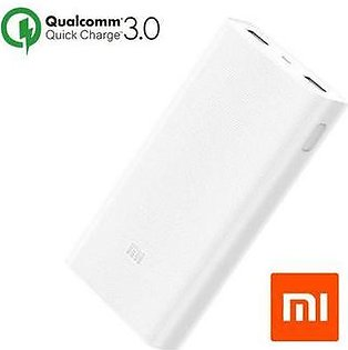 Xiaomi Power Bank V2 Capacity 20000mAh Dual USB Port Qualcomm Quick Charge 3.0