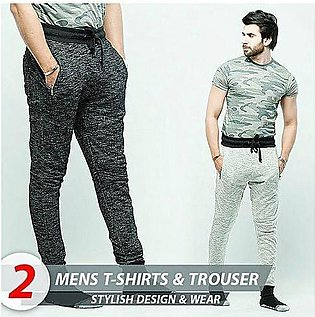 Aybeez Pack of 3 Trousers & T-shirt For Men