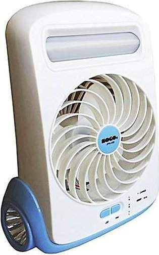 High Quality Original Sogo Rechargeable Fan With LED + Torch - Special Edition