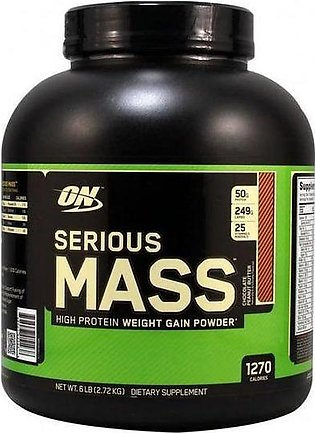 Serious Mass - Chocolate - 6 lbs