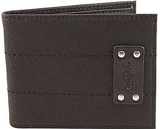 LEVIS Studded Two Horse Patch Wallet For Men