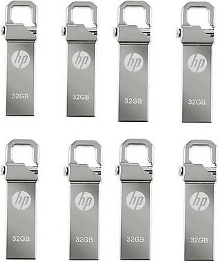 Pack Of 8 32Gb - 3.0 Usb Drive - Silver