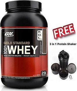Gold Standard - Whey Protein - 2 lbs - Double Rich Chocolate