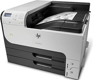 HP LASERJET BLACK & WHITE PRINTER M712DN