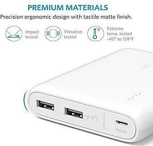 Anker A1215 PowerCore 13000mAh Power Bank With PowerIQ Technology