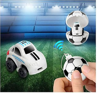 Classical 2.4G Mini Football Storage Car and Remote Control Ball Car Model To...
