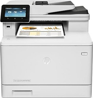 HP LASERJET COLOR ALL IN ONE PRINTER M477FDW