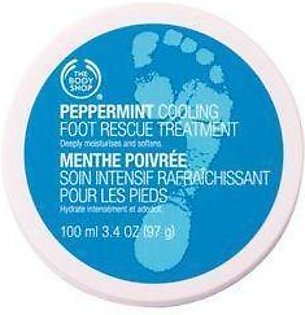 The Body Shop Peppermint Cooling Foot Rescue Treatment 100 ML