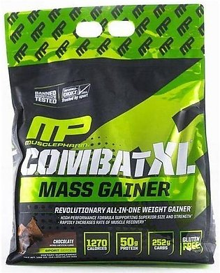 Combat XL Mass Gainer, Chocolate - 10lbs