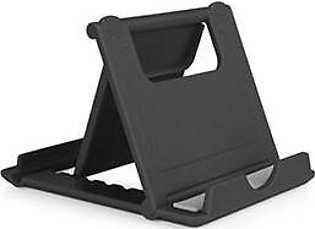Black Abs Rubber Cell Phone Tablet Desk Stand Holder