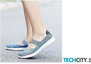 Handmade Comfortable Woven Ladies Shoes AT-987