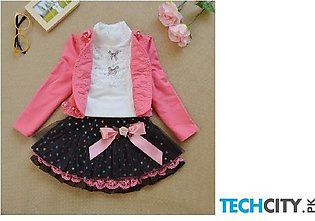 Rose Active Pullover Cotton Baby Dress