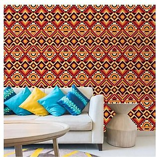 3D Ethnic Colourful Wallpaper BNS-385