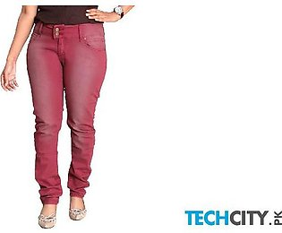Crimson Faded Skinny Fit Ladies Jeans