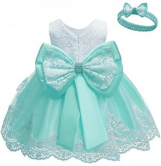 Keaiyouhuo Green Polyester Princess Dress