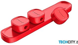 Baseus Red Pack Of 2 Mobile Phone Usb Data Cable Holder