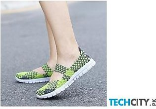 Handmade Comfortable Woven Ladies Shoes AT-986