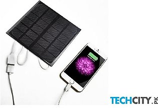 6V 3W 600MA Power Bank Solar Panel USB Travel Battery Charger
