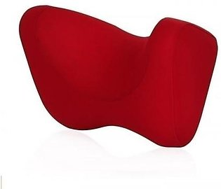 Leon Red U shaped Protect Cervical Spine Car Seat Neck Pillow