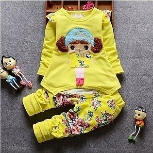BarbieRabbit Yellow Outfit Baby Girl Dress