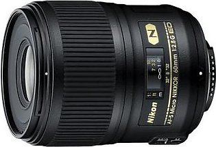 Nikon AF-S Micro Nikkor 60mm f/2.8G ED Digital Camera Lens
