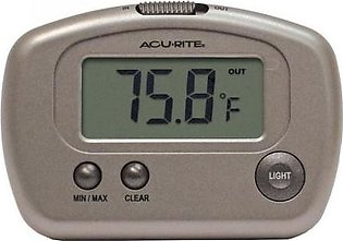 AcuRite Digital Thermometer with 10-foot Temperature Sensor Probe