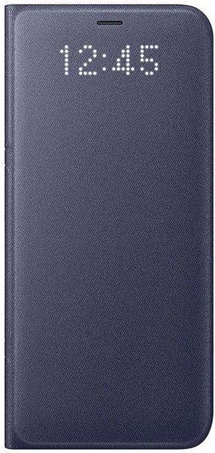 Samsung Galaxy S8 LED Wallet Cover - Orchid Gray
