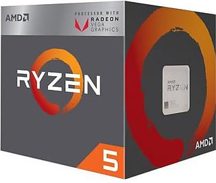 AMD Ryzen 5 2400G with Radeon RX Vega 11 Graphics