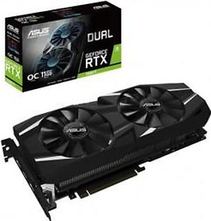 ASUS Dual GeForce RTX 2080 Ti OC Edition 11GB GDDR6 with High-Performance Cooling for 4K and VR Gaming Graphics Card