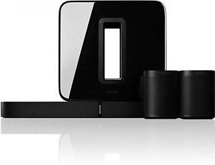 Sonos 5.1 Surround Sound Package With PLAYBASE And One