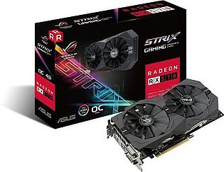 ASUS ROG Strix Radeon RX 570 O4G Gaming Graphics Card