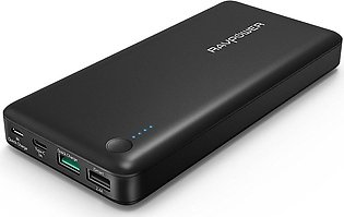 RAVPower USB-C Portable Charger 20100mAh Power Bank with QC 3.0