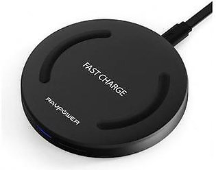 RAVPower Wireless Charger Qi-Certified 10W Fast Wireless Charging Pad