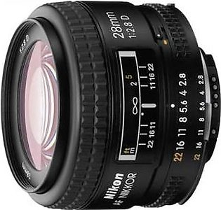 Nikon AF Nikkor 28mm f/2.8D Digital Camera Lens