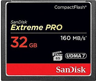 SanDisk Extreme Pro CompactFlash Memory Card - 32GB
