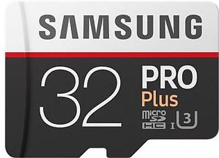 Samsung PRO Plus Memory Card w/ Adapter
